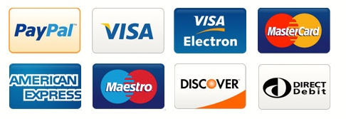 +5% credit card payment fees
